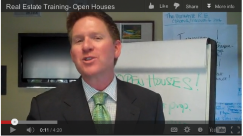 Open House Action Steps from Coach Tom Ferry - Watch and Win!