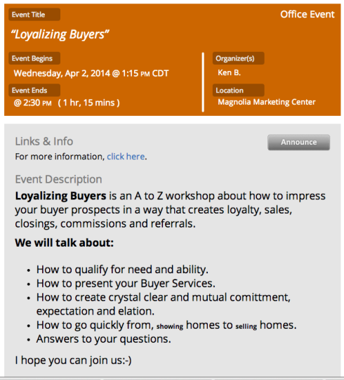 Loyalize Your Buyers