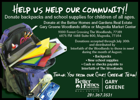backpack donations ecard