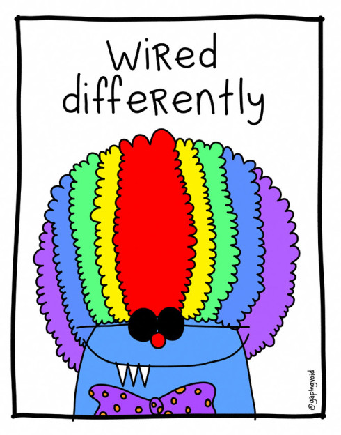 Wired differently hugh